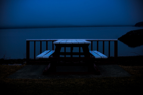 Picnic table, alaska