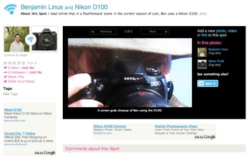 Benjamin Linus of LOST and the Nikon D100